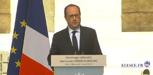 Discours d'hommage à Jean-Louis CREMIEUX-BRILHAC - site de l'élysée.fr